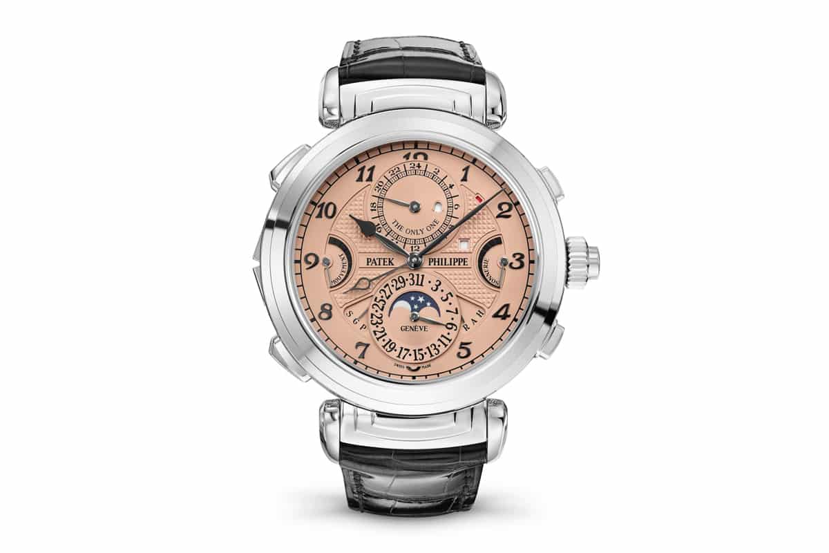 Patek Philippe : une montre à 31 millions d'euros