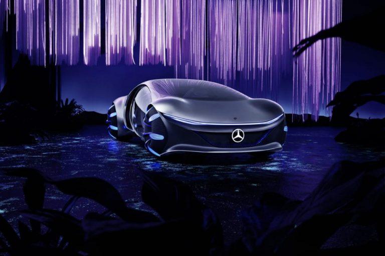 Mercedes-Benz présente son prototype Vision AVTR