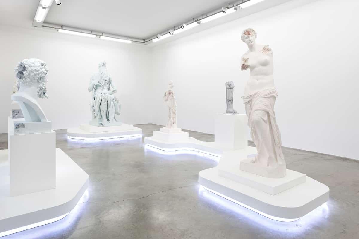 Daniel Arsham : un Solo Show à la galerie Perrotin