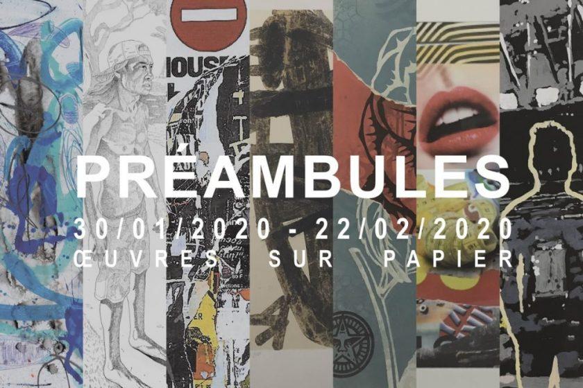 PREAMBULES : l'exposition dédiée aux chefs d'oeuvres contemporains sur papier