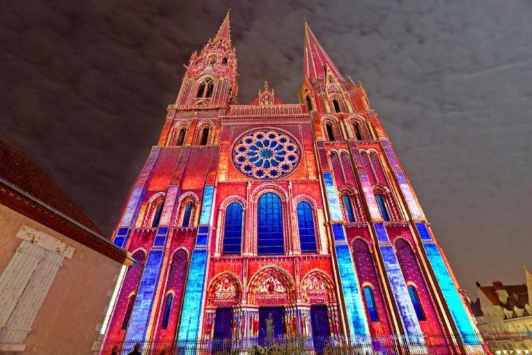Chartres en lumières, une édition 2020 scénographiée