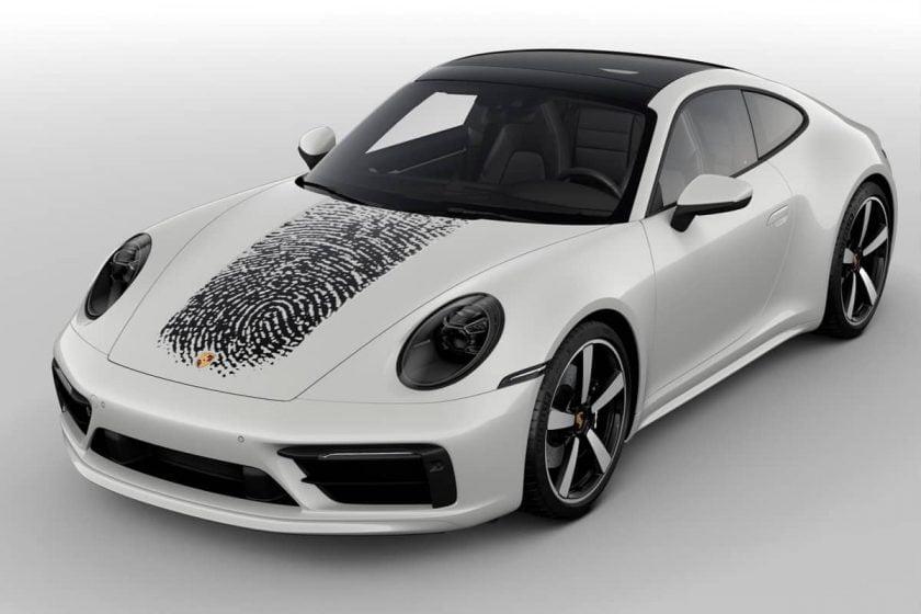 Porsche 911, vos empreintes digitales sur la capot