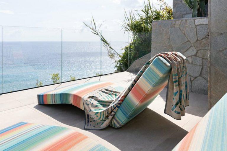 Missoni Home, une collection de serviettes outdoor