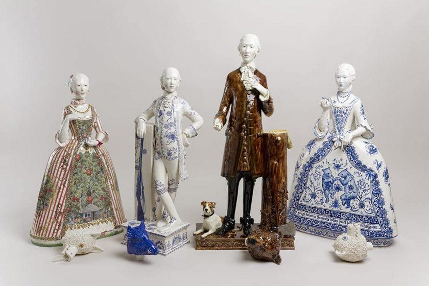 Claire Partington, l'esthétisme théâtral de la porcelaine