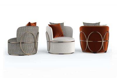 Trussardi Casa, les meubles à l'élégance solennelle