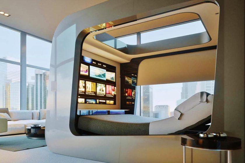 HiCan, le lit dopé aux nouvelles technologies
