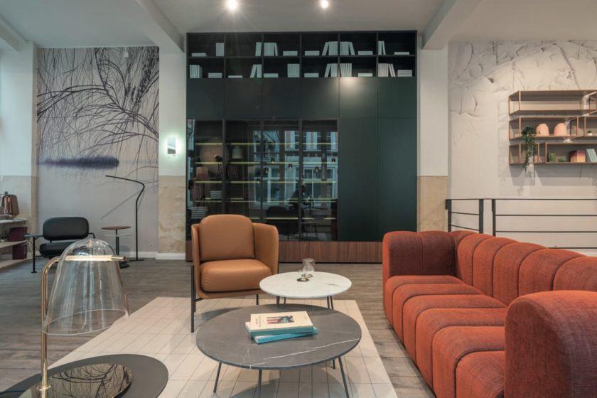 Projet Concept Mobilier, le showroom des marques