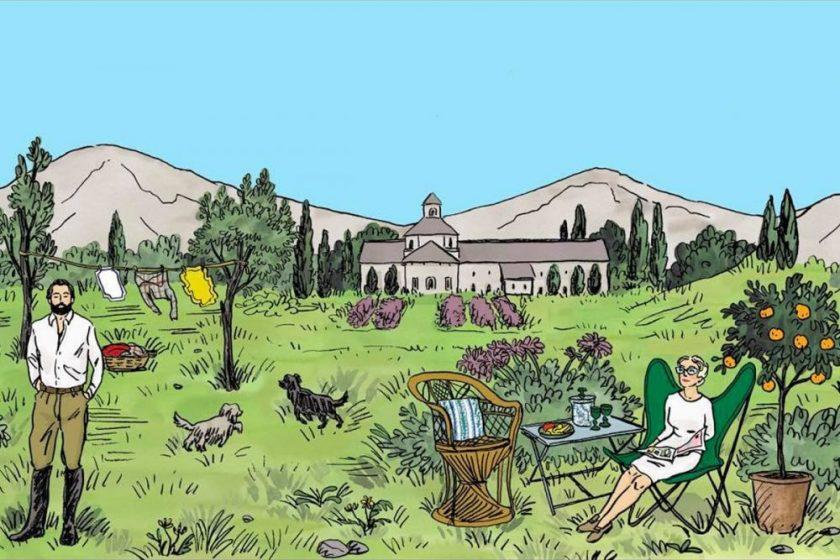 Casa Lopez et Edith Mézard, la maison rêvée en Provence