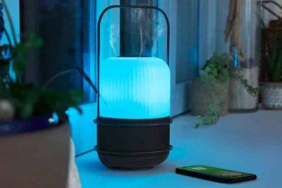 Aromasound, la lampe nomade estivale
