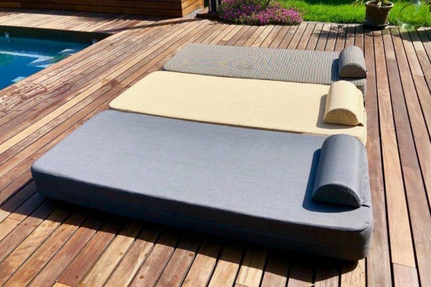 Cozip Polo Bed, le gadget must have au bord de la piscine