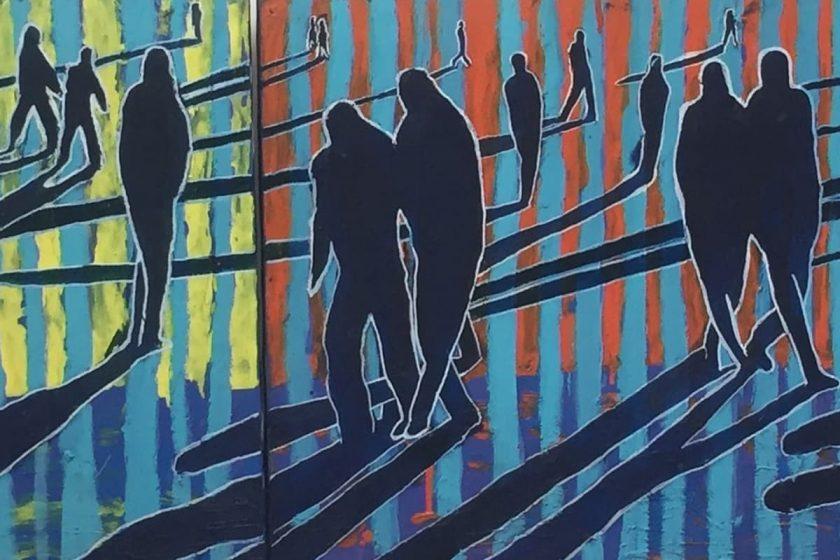 Catherine Jonville : scènes de la vie urbaine